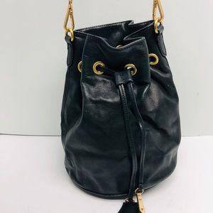 Tahari Leather Bucket Bag!!